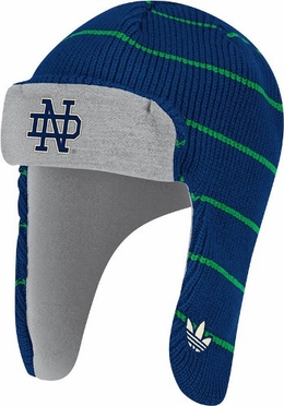 Notre Dame Adidas Originals Knit Trooper Hat