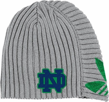 Notre Dame Adidas Retro Cuffless Knit Hat