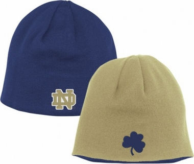 Notre Dame Adidas Reversible Knit Hat