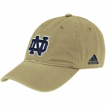 Notre Dame Adjustable Slouch Hat (Gold)