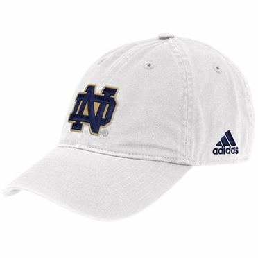 Notre Dame Adjustable Slouch Hat (White)