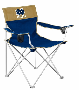 Notre Dame Big Boy Adult Folding Logo Chair