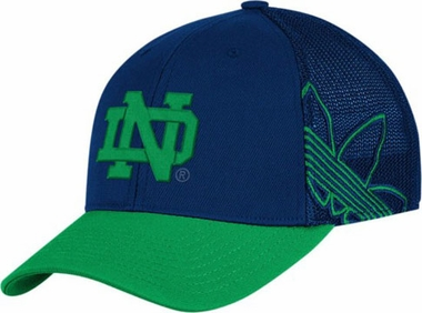 Notre Dame Branded Logo Structured Flex Hat