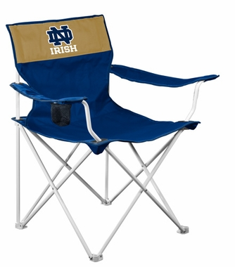 Notre Dame Canvas Adult Folding Logo Chair