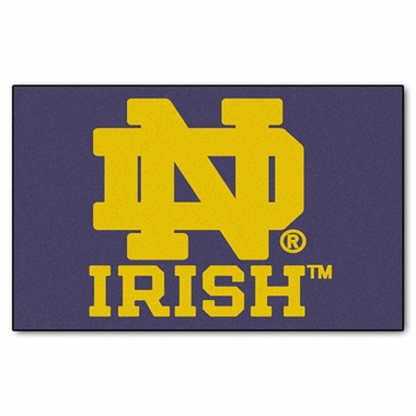 Notre Dame Economy 5 Foot x 8 Foot Mat