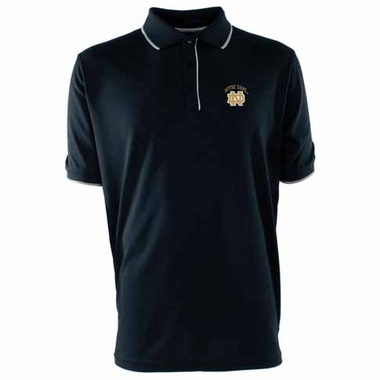 Notre Dame Mens Elite Polo Shirt (Color: Navy)