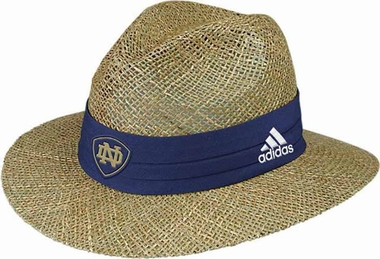 Notre Dame Fighting Irish 2013 Sideline Straw Hat