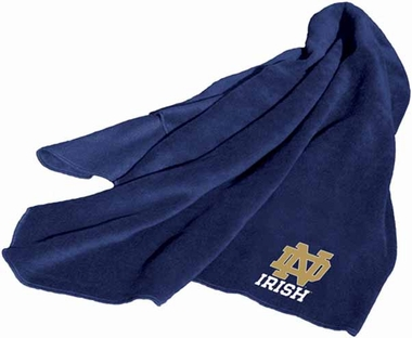 Notre Dame Fleece Throw Blanket