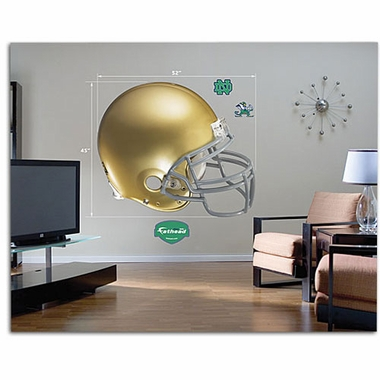 Notre Dame Helmet Fathead Wall Graphic