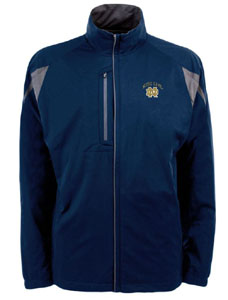 Notre Dame Mens Highland Water Resistant Jacket (Team Color: Navy) - Large