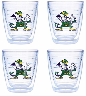 Notre Dame (Leprechaun) Set of FOUR 12 oz. Tervis Tumblers