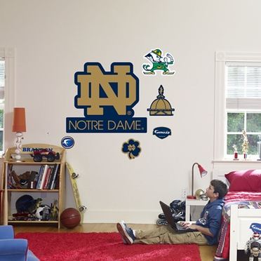 Notre Dame Logo (ND) Fathead Wall Graphic