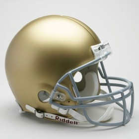 Notre Dame Riddell Full Size Authentic Helmet