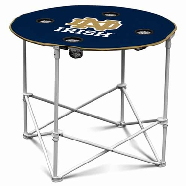 Notre Dame Round Tailgate Table