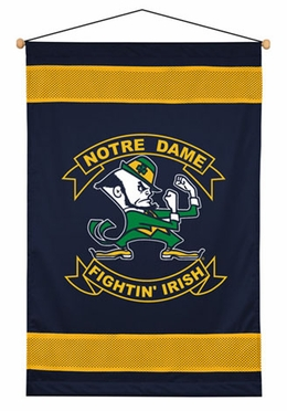 Notre Dame SIDELINES Jersey Material Wallhanging