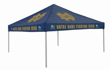 Notre Dame Team Color Tailgate Tent