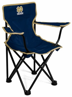 Notre Dame Toddler Folding Logo Chair