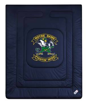 Notre Dame Twin Jersey Comforter