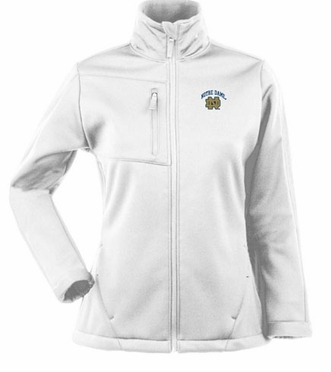 Notre Dame Womens Traverse Jacket (Color: White)