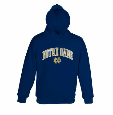 Notre Dame YOUTH Hooded Sweatshirt (Navy)