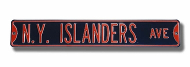 NY Islanders Ave Street Sign