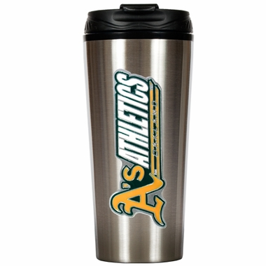 Oakland Athletics 16 oz. Thermo Travel Tumbler