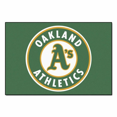 Oakland Athletics 20 x 30 Rug