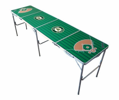 Oakland Athletics 2x8 Tailgate Table