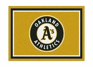 "Oakland Athletics 3'10"" x 5'4"" Premium Spirit Rug"