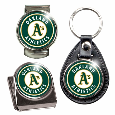 Oakland Athletics 3 Piece Gift Set