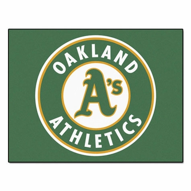 Oakland Athletics 34 x 45 Rug