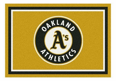 "Oakland Athletics 5'4"" x 7'8"" Premium Spirit Rug"