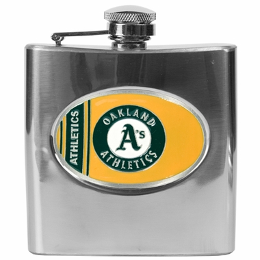 Oakland Athletics 6 oz. Hip Flask