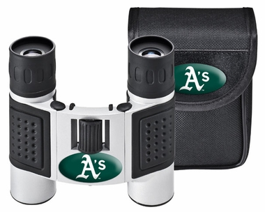 Oakland Athletics Binoculars and Case