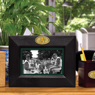 Oakland Athletics BLACK Landscape Picture Frame