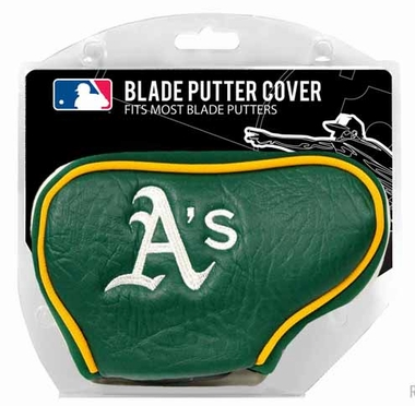 Oakland Athletics Blade Putter Cover