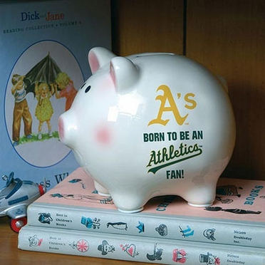 Oakland Athletics (Born to Be) Piggy Bank