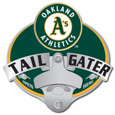 Oakland Athletics Bottle Opener Hitch Cover