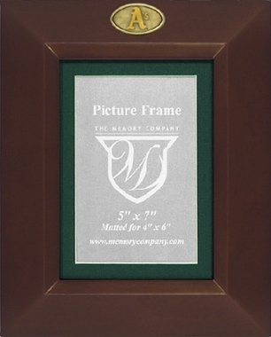 Oakland Athletics BROWN Portrait Picture Frame