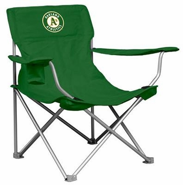 Oakland Athletics Canvas Adult Folding Logo Chair