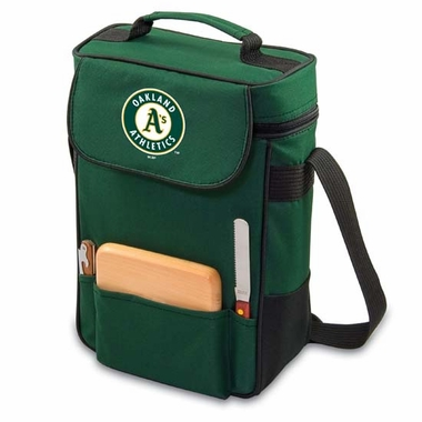 Oakland Athletics Duet Compact Picnic Tote (Hunter)