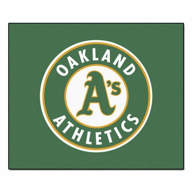 Oakland Athletics Economy 5 Foot x 6 Foot Mat