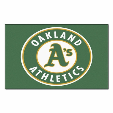 Oakland Athletics Economy 5 Foot x 8 Foot Mat