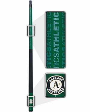 Oakland Athletics Eliminator Pool Cue