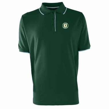 Oakland Athletics Mens Elite Polo Shirt (Team Color: Green)
