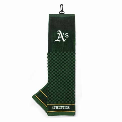 Oakland Athletics Embroidered Golf Towel