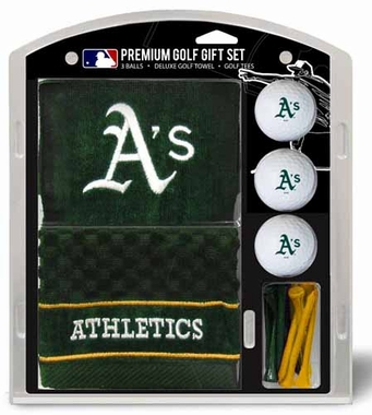 Oakland Athletics Embroidered Towel Gift Set