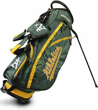Oakland Athletics Fairway Stand Bag