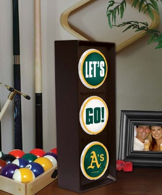 Oakland Athletics Flashing Stop Light