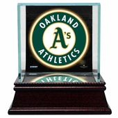Oakland Athletics Display Cases
